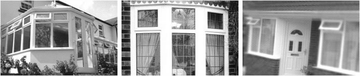 Greyscale uPVC windows and doors